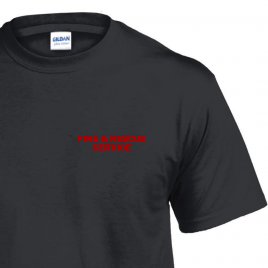 FIRE & RESCUE SERVICE T SHIRT