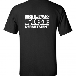 LUTON BLUE WATCH FIRE DEPARTMENT T SHIRT