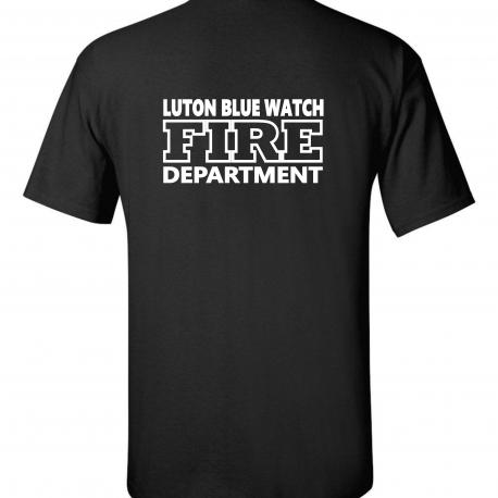LUTON BLUE WATCH BACK